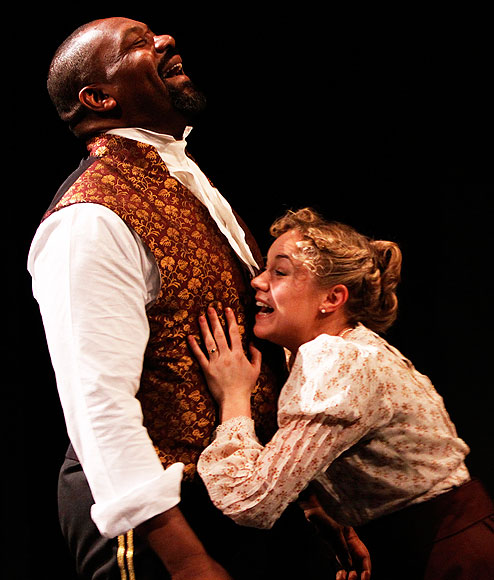 othello racisim Racism in othello racism seems to be a big concern in shakespeare's tragic play, othello because the hero of the play is an outsider, a moor, we have an idea how blacks were regarded in england, in elizabethan times.